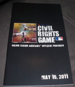 Program from the 2011 MLB Civil Rights Game