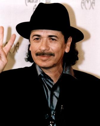 Legendary Guitarist Carlos Santana