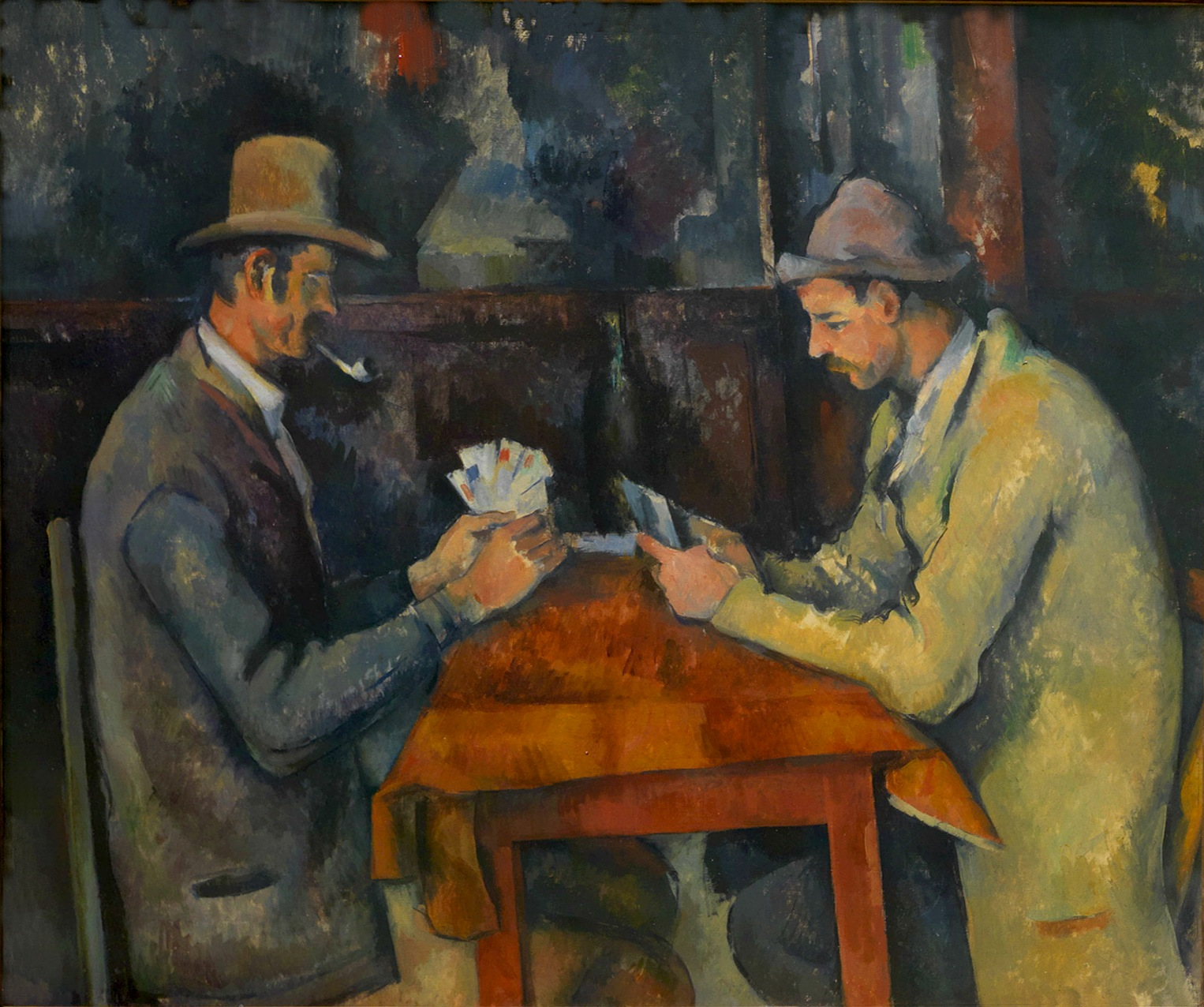 The Card Players by Paul Cezanne