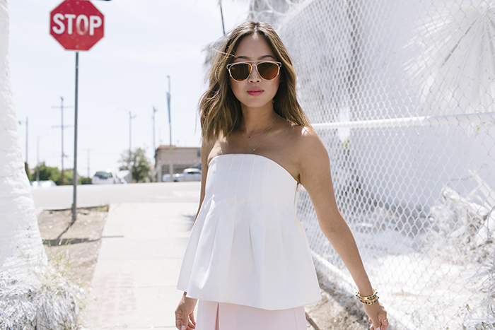 aimee_song_cameo_collective_white_bustier_top