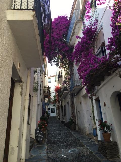 Classic backstreet in Cadaques